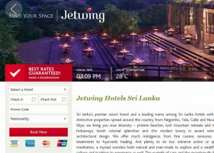 Jetwing website