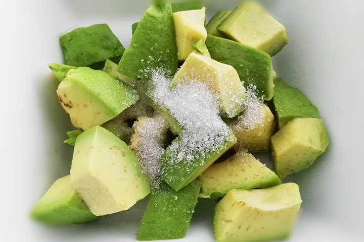 avocado and sugar
